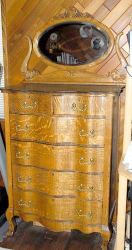 27 Best Antique Serpentine Front Dressers Images On