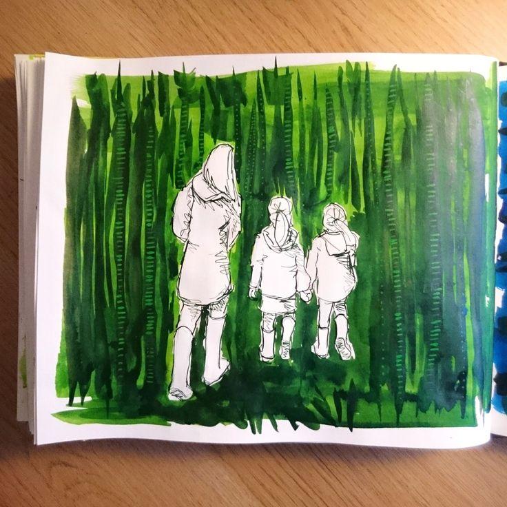 Day 27 28 Drawings Later Sketchbook Challenge by Jo Degenhart