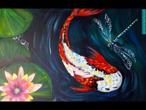 17 best images about artist clive5art tutorials on for Koi fish pond for beginners