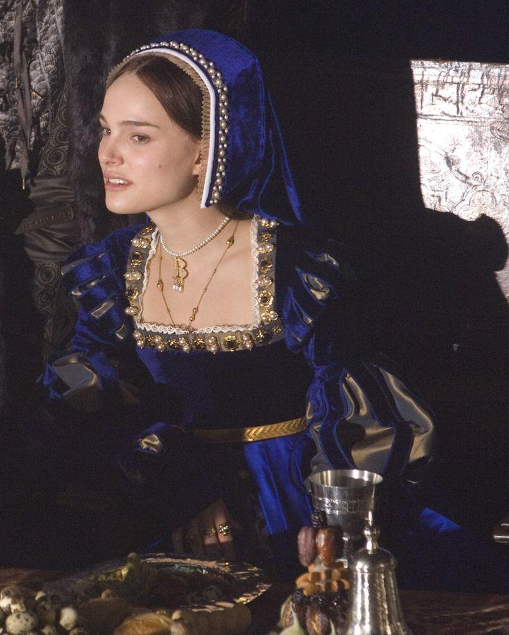 Natalie Portman as Anne Boleyn in The Other Boleyn Girl