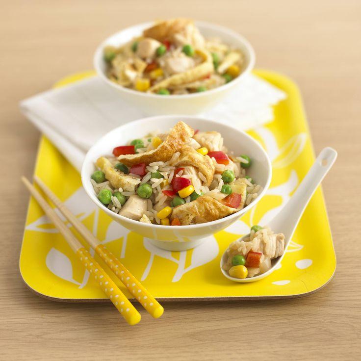 Chinese Chicken & Rice
