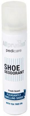 Kötü kokulara karşı savaşan, ayakta meydana gelen bakterilenmeyi engelleyen ve  ayakta koku oluşumunu ortadan kaldırmayı sağlayan #Allpresan Shoe #Deodorant #Ayakkabı #Deodorantı 100 ml ürününü kullanabilir sipariş verebilirsiniz.