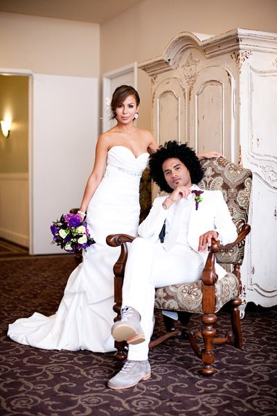 Love Anjelah Johnson. And she was a gorgeous bride!