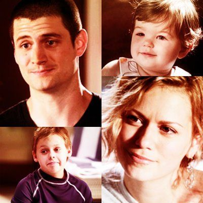 nathan, haley, jamie, and lydia scott. - season 9. OTH