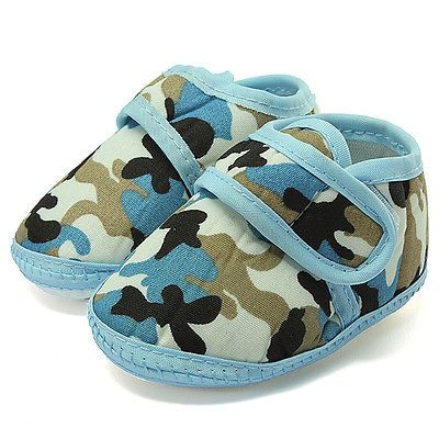 Chaussons Bébé Chaussures Semelle Souple Garçon Antidérapant Baby Shoes 0-18 M