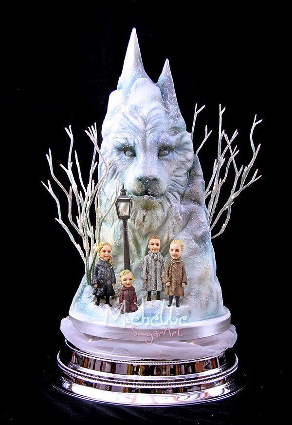 Narnia Theme Wedding Cake