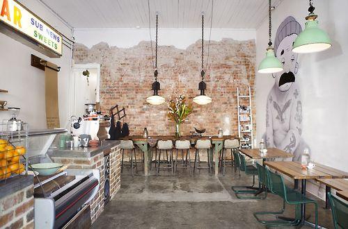 Vintage Chic Milk Bar Cafe Tomboy Melbourne Interior Design Cafes Bars Restaurants