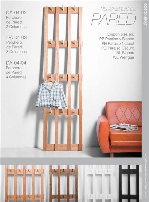Las 25 mejores ideas sobre perchero pared en pinterest - Colgadores de pared modernos ...