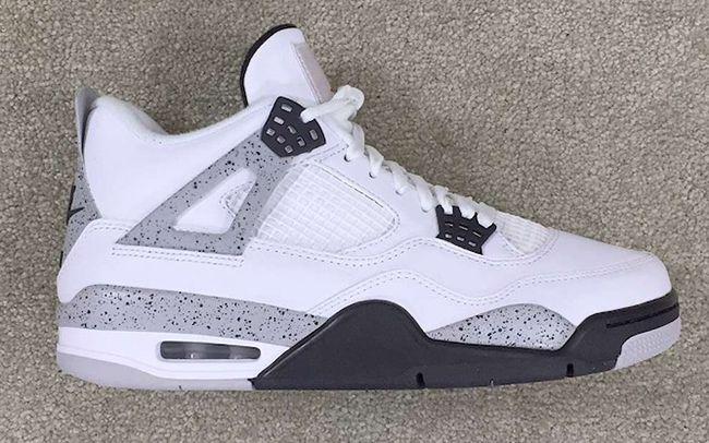 Nike Air Jordan 4 Retro 89 2016 Cement