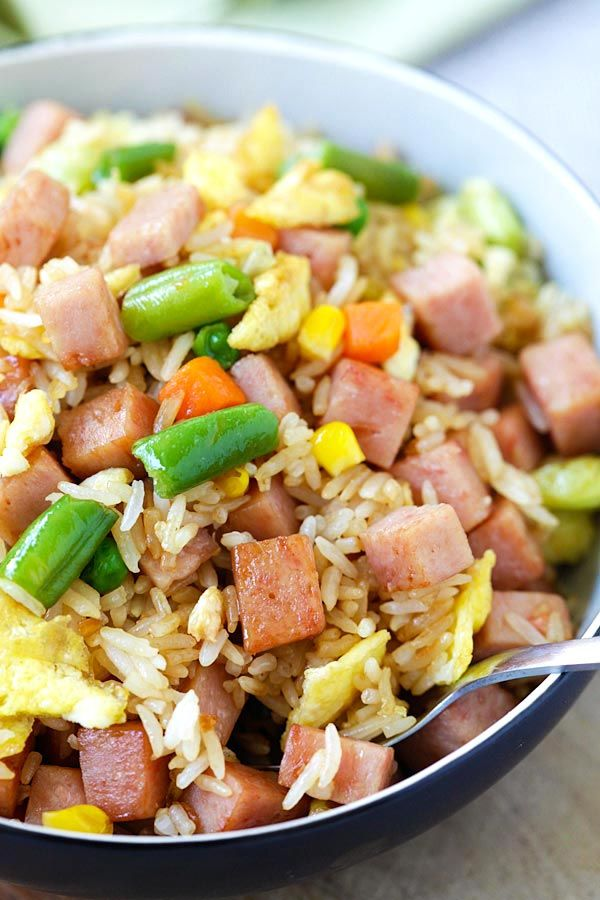 25+ best ideas about Spam fried rice on Pinterest | Fried ...