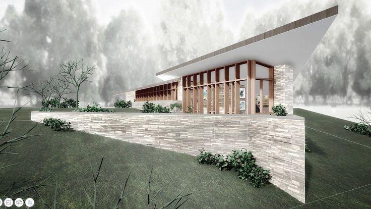 Tour Frank Lloyd Wright's final residential design, the Riverrock Hous