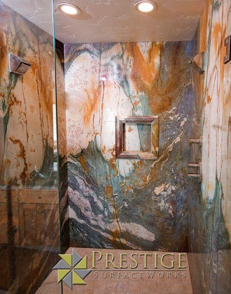 17 Best ideas about Granite Shower on Pinterest Luxury