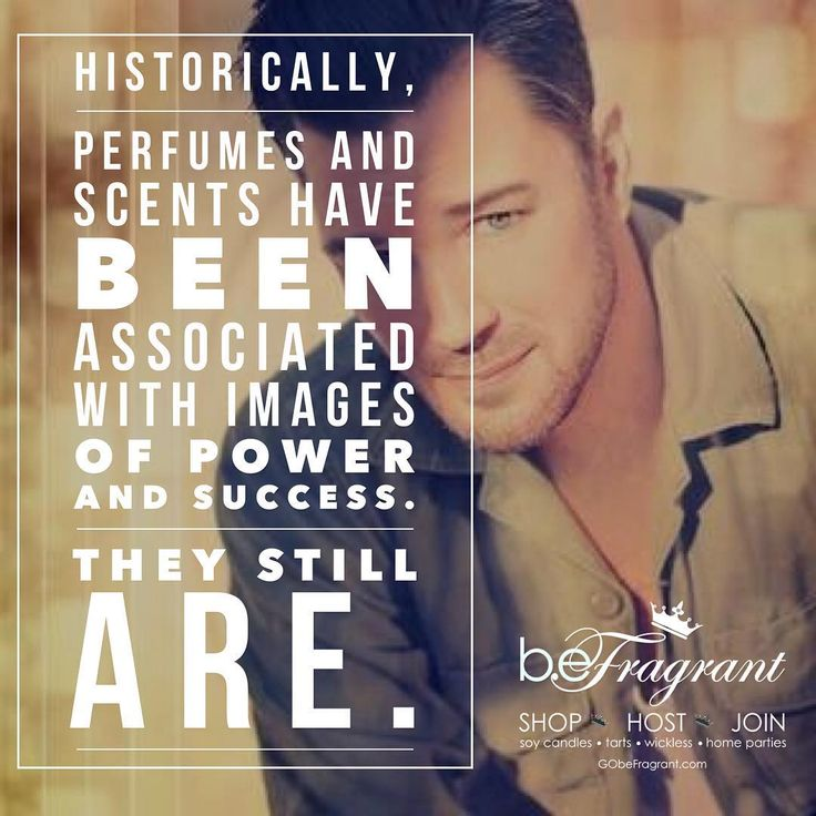 Historically perfumes and scents have been associated