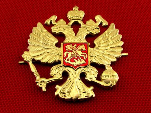 Russian-Imperial-Double-Headed-Eagle-Emblem-Badges-on-Hat