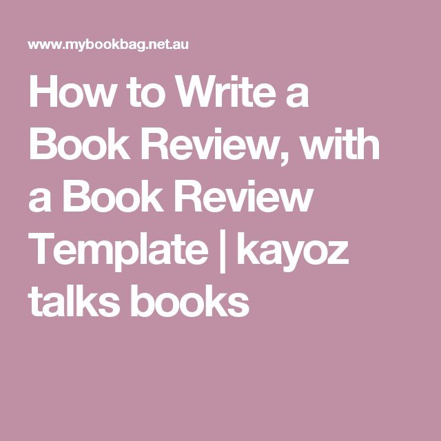 17 best ideas about Book Review Template – Book Review Template