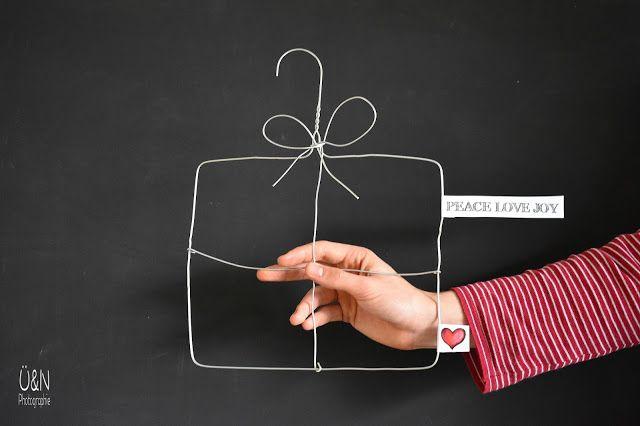 Überall & Nirgendwo: Drahtbügelbiegerei, ein heißer Verpackungstipp für ein olles Geldgeschenk damit und mein...ohje......VIERTER Adventskalender!