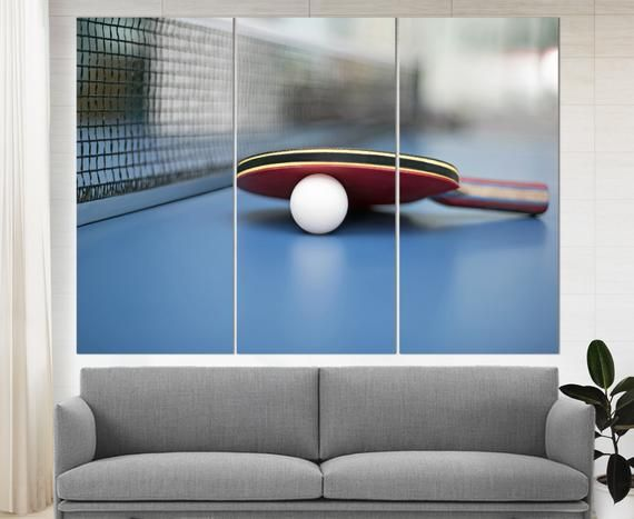 Table Tennis Wall Art Ping Pong Canvas Art Table Tennis Print Tennis Bat Ping Pong Wall Art Tennis Poster Photo Player Gift Coach Gift In 2020 With Images Art Table Nature