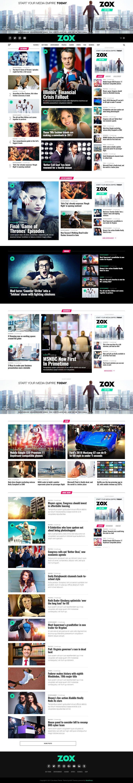 Wordpress theme for newspaper website