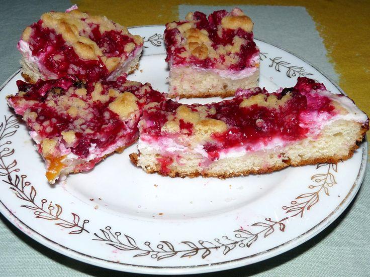 Jak udělat rybízový koláč s tvarohem | recept