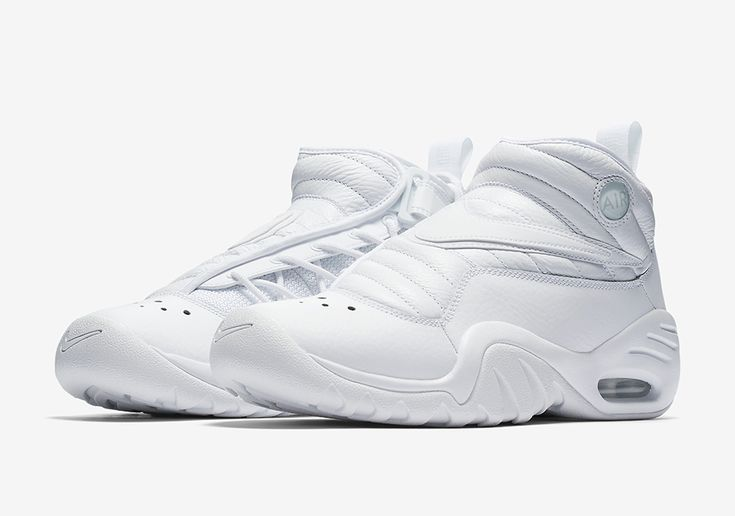 The Nike Air Shake NDestrukt Triple White (Style Code: 880869-101) will release later this Spring 2017 season featuring Dennis Rodman's retro in all white.