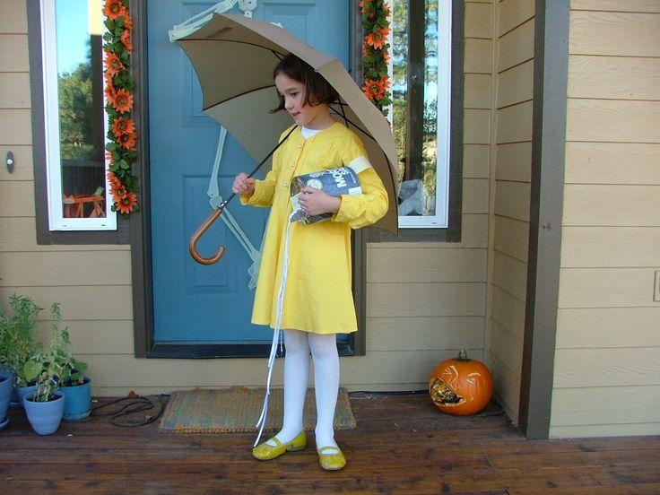 morton salt girl costume toddler halloweenhalloween - Where To Buy Toddler Halloween Costumes