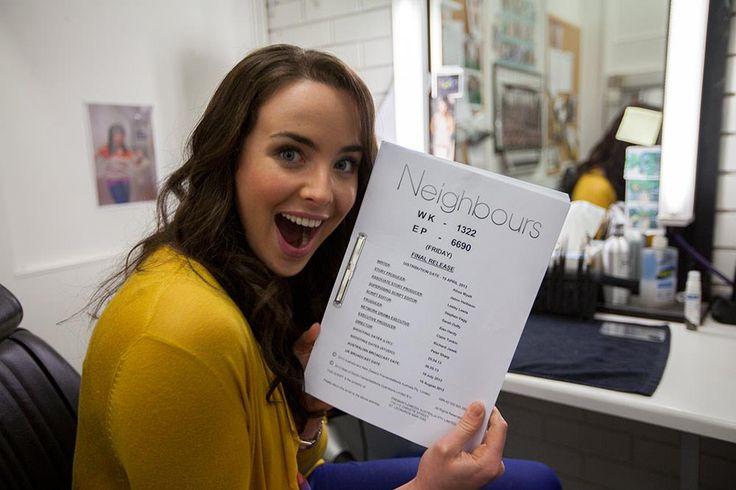 Ashleigh Brewer (KATE)  #Neighbours #NeighboursBehindTheScenes