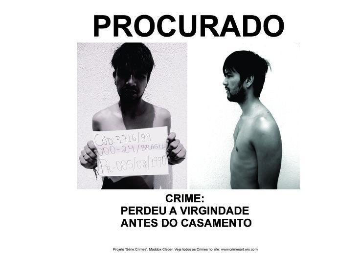 """Série """"Crimes"""" by Maddox Cleber http://movimentomas6.wix.com/crimesart"""