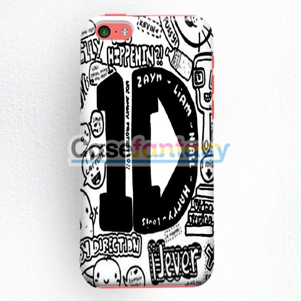 One Direction And 5Sos Collage iPhone 5C Case | casefantasy