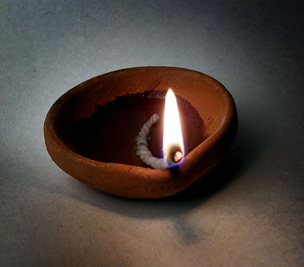 5 Surprising Survival Uses For A Tampon Candle Magick Oil Lamps Diya Lamp