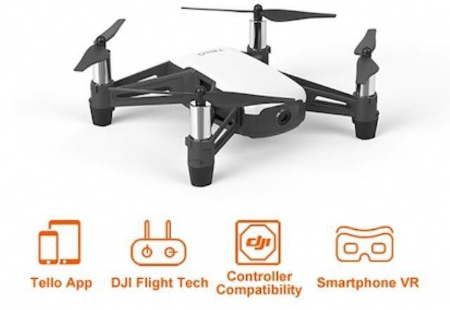 DJI TELLO Drone Quadcopter, best mini drone quadcopter with 4k