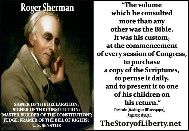 the life and career of roger sherman one of the founding fathers of the united states A list of america's most important founding fathers, including the signers of the   and fortunes for a better life for themselves and their descendants you and  me  a few of the names appear in more than one category because of the  multiple  oliver ellsworth william samuel johnson roger sherman.