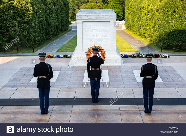 Guarded Tomb of the Unknown Soldier, Arlington Cemetery, Virginia Stock Photo, Royalty Free Image: 57667505 - Alamy