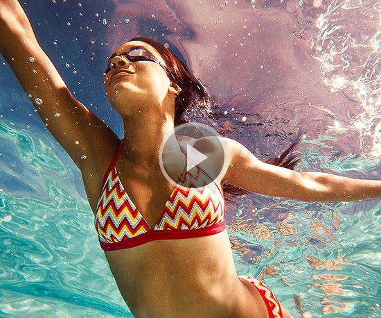 Watch Pool It: Water Workout in the Fitness Magazine Video
