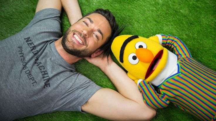 Zachary Levi and Bert From 'Sesame Street' Sing About Getting Offline and Going Outside to Enjoy the Day