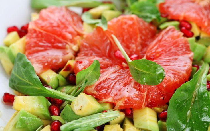 Greyfurtlu Avokado Salatası Tarifi