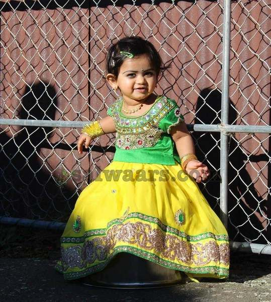 Pretty Doll in Our Beautiful Attire - Indian Dresses