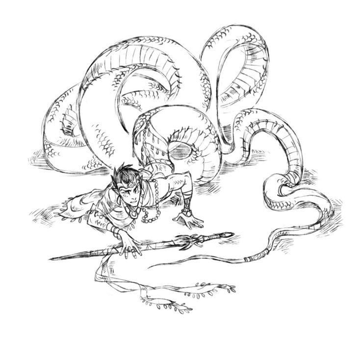 183 Best Mythological Messes Redux Images On Pinterest: 183 Best Images About Naga/lamia/medusa On Pinterest