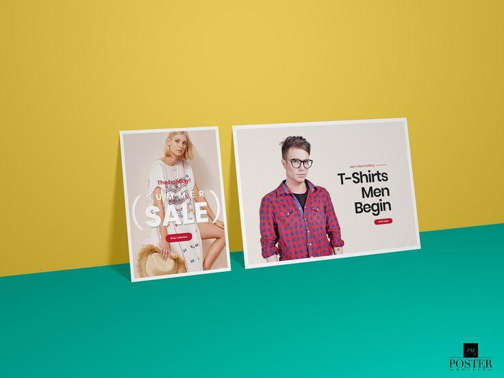 Free Horizontal And Vertical Poster Mockup For Branding Poster Mockup Free Poster Mockup Poster Mockup Psd