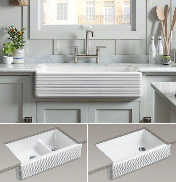 farmhouse sink on pinterest farm sink kitchen farmhouse kitchen