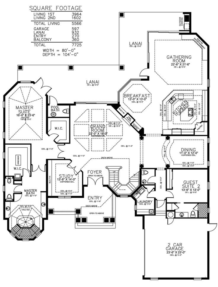 121 best For the Home images on Pinterest | Florida house plans ...