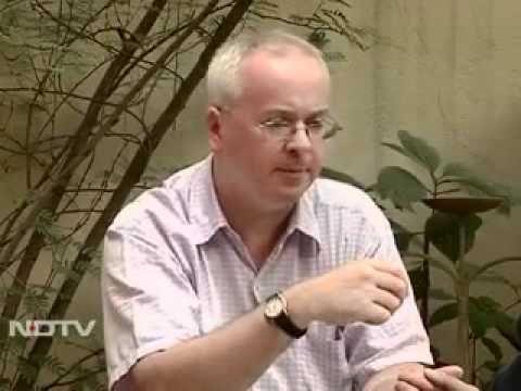 Andy Mulligan on NDTV, via YouTube.