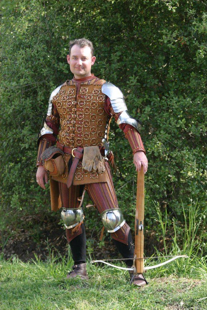 15th century crossbow man