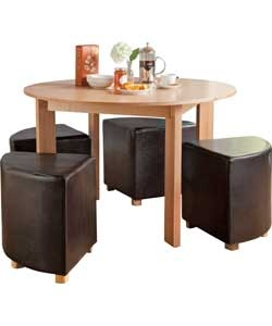 Space Saving Dining Table Tiny Houses Pinterest