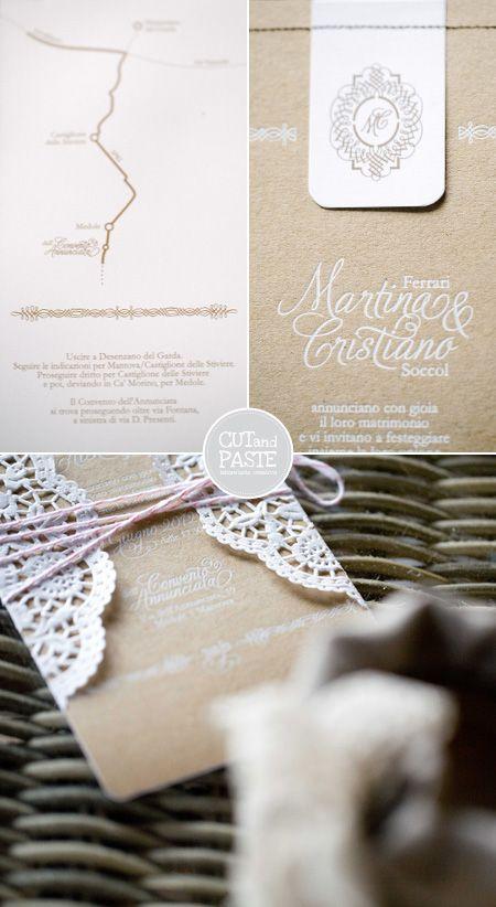 Viva la sposa!: Cut and Paste wedding stationary