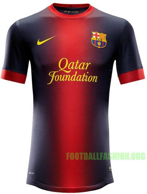 FC Barcelona Nike 2012/13 Home and Away Kits