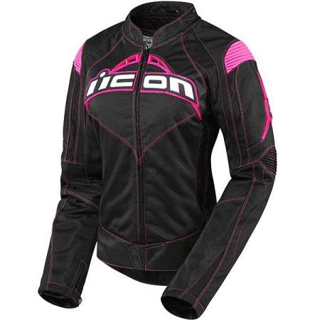 Free Shipping. Buy Icon Contra Womens Textile Jacket Black/Pink at Walmart.com
