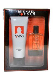 Michael Jordan Men Gift Set (Eau De Cologne Spray, After Shave Balm) by Michael Jordan. $14.29. Michael Jordan by Michael Jordan for Men. Michael Jordan by Michael Jordan for Men - 2 Pc Gift Set 1oz EDC Spray, 3.3oz After Shave Balm. MICHAEL JORDAN is a refreshing spicy lavender amber fragrance. This Perfume has a blend of cedar sandalwood green tea and leather. It is recommended for daytime wear.. Save 43%!