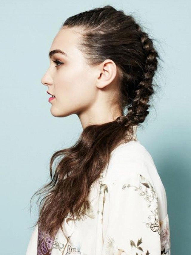 How to Create a Faux Mohawk Ponytail: A Google Glass Tutorial