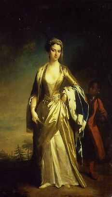 1718 Portrait of Lady Mary by Richardson