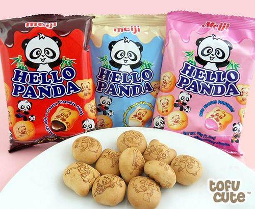 Meiji Hello Panda Biscuits Snack Pack